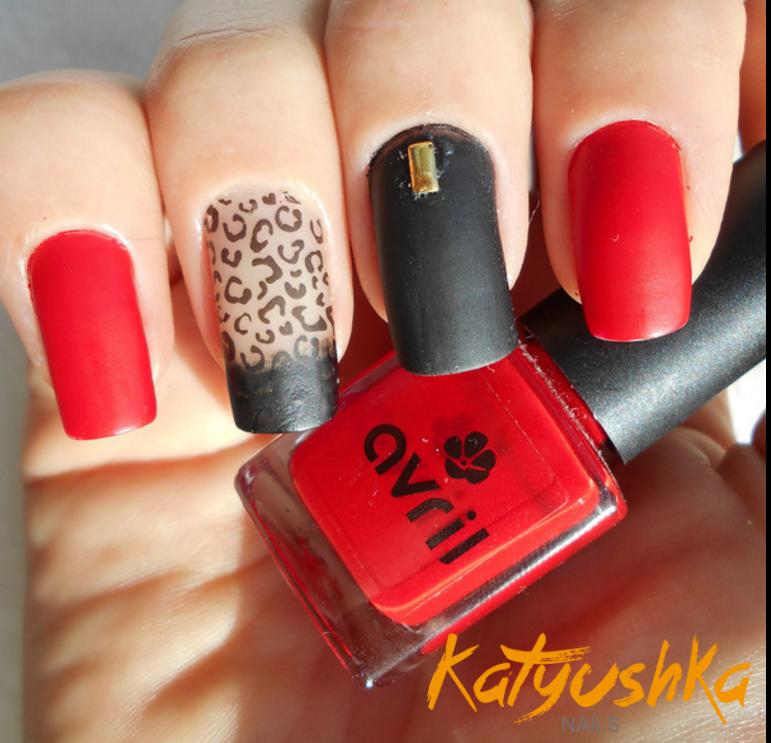 Unas Decoradas Rojo Parte 1 Katyushka Nails