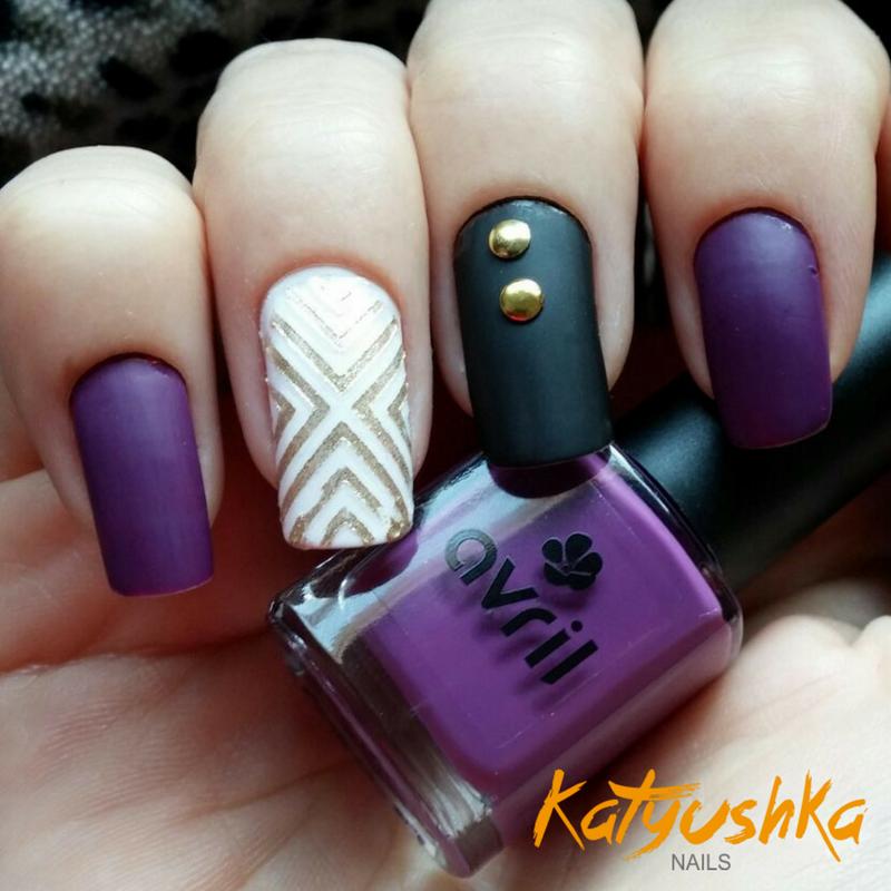 Diseños De Uñas Efecto Mate Parte 1 Katyushka Nails
