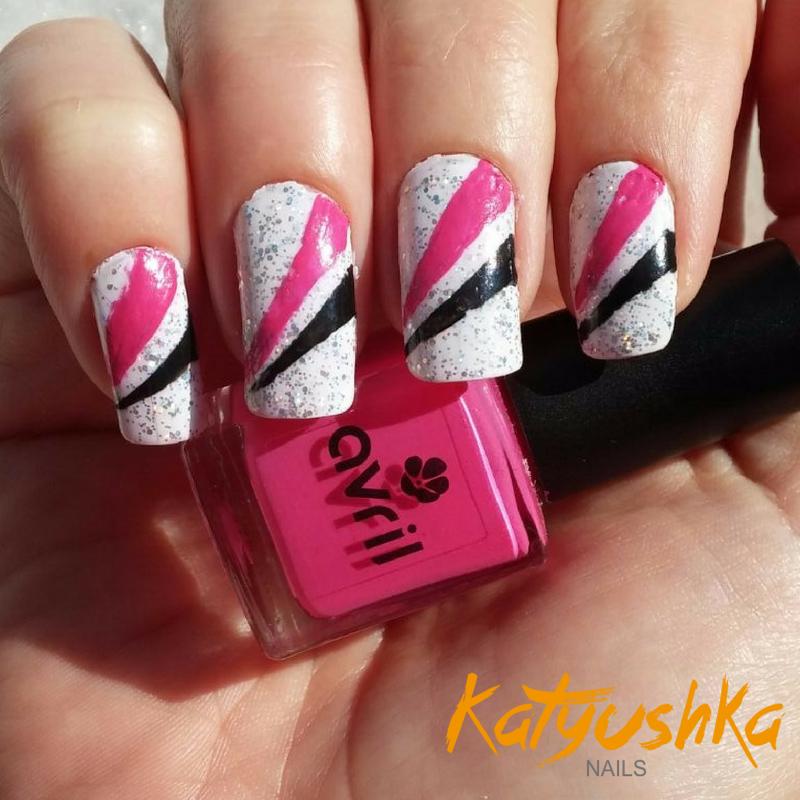 Diseños de uñas de color rosa (Parte 1)   Katyushka Nails