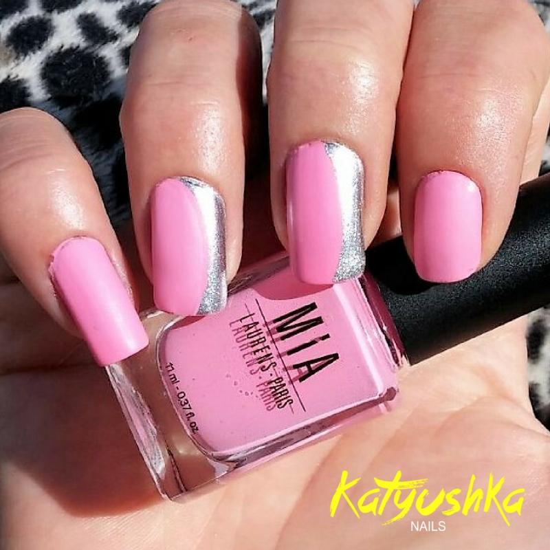Uñas decoradas en rosa #2 | Katyushka Nails