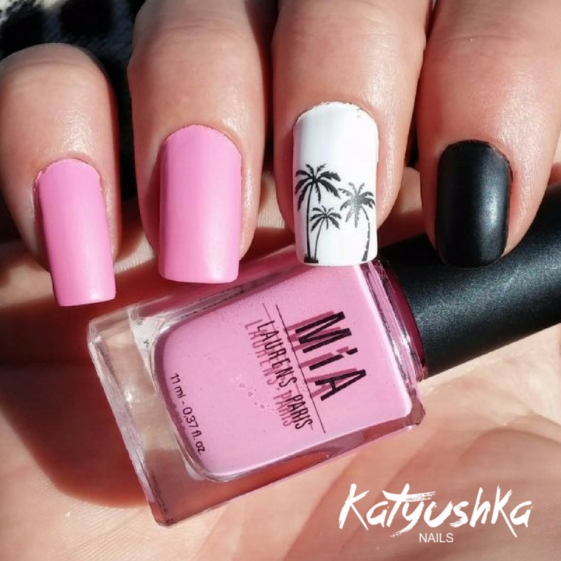 Unas Decoradas En Rosa 2 Katyushka Nails