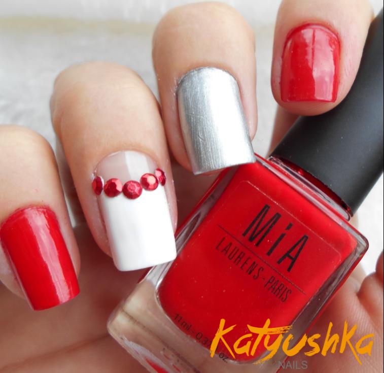 Uñas Decoradas Rojo Parte 1 Katyushka Nails